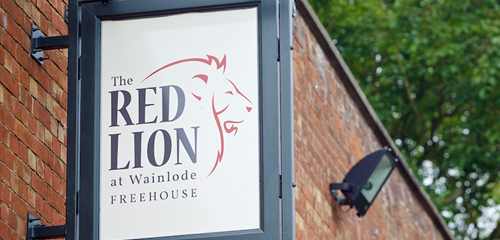 The_Red_Lion_Signage