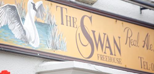 The_Swan_Inn_Signage